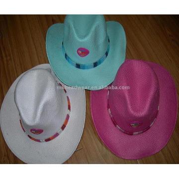 Новая соломенная шляпа 2013 года с патчами