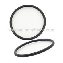 O anel de borracha liso do anel-O do silicone para selos mecânicos da garrafa térmica coloriu anéis-O de borracha