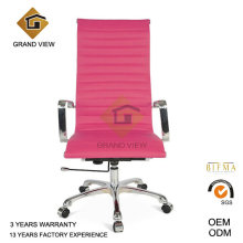 Pink Leather Furniture Church Arm Chair (GV-OC-H306)