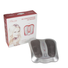 Vibrating foot massage machine red infrared therapy foot massager as seen on tv