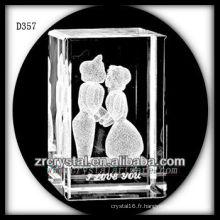 cristal de mariage D357
