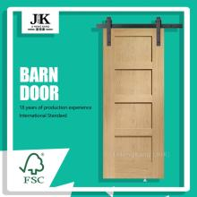 JHK-SK04-1 Shaker Style Interior Industrial Buy Sliding Door Popular