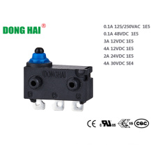 Waterproof micro switch  For Automotive Control Parts