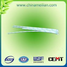 Mangas de aislamiento de cable de fibra de vidrio de PVC