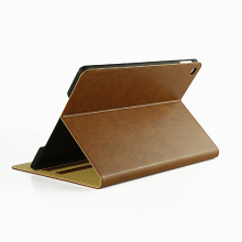 Newest folio computer leather case for ipad air2,many colors available