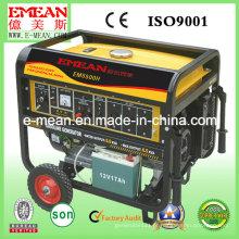 Gerador pequeno da gasolina da gasolina da fase 4kva / 4kw monofásica (EM5500I)