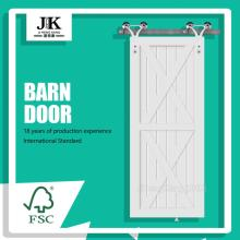 JHK-SK11 Panel Exterior Shaker Rail System Barn Door