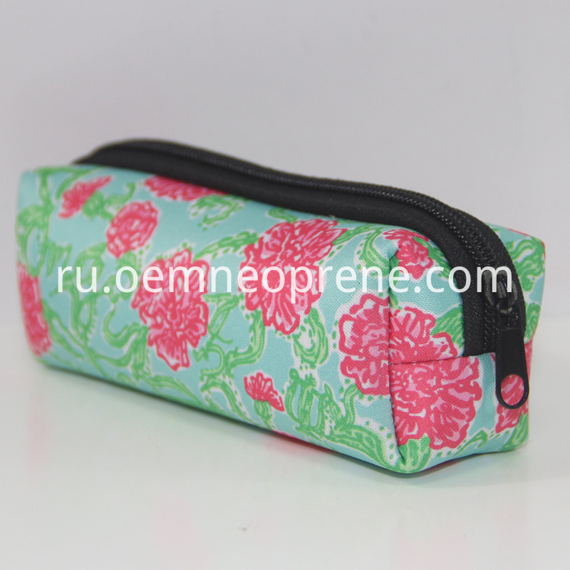 Neoprene pencil pouch