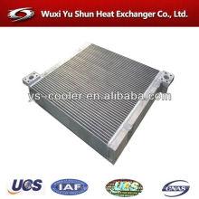 Radiador / placa intercambiador de calor / enfriador / placa de aluminio aleta tipo condensador