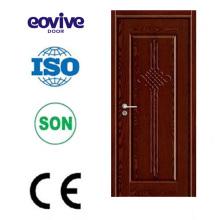 preço do competidor Itália estilo único novo design porta de madeira
