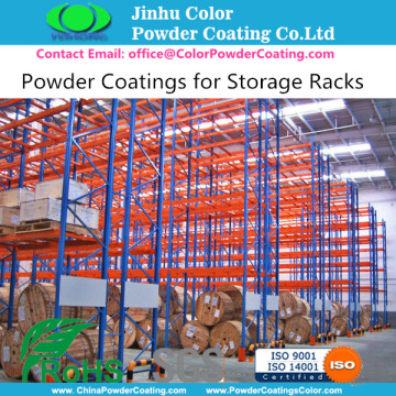 Powder Coating for Storage Racks