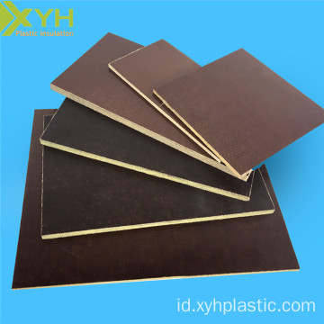 Coklat 15mm tebal 3026 Phenolic Cotton Sheet
