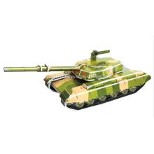 3D o quebra-cabeça novo tanque