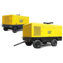 Diesel Portable/Mobile Screw Air Compressor
