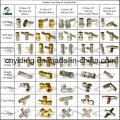 Misting Elbow Push Slip Lock Coupling (SL-3007)