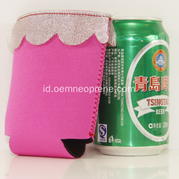 Promosi Sublimasi Lace Can Coolers Tube