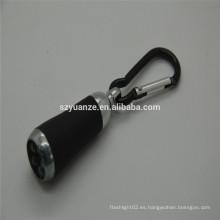 Mini linterna llevada, mini linterna llevada, luz llevada de la mano