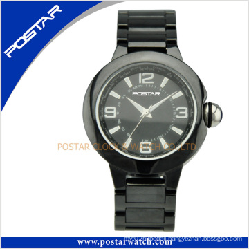 Stylish Ceramic Quartz Watch with Ceramic Band