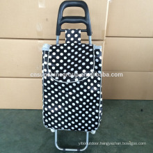 Beauty trolley bag with over, laundry basket trolley