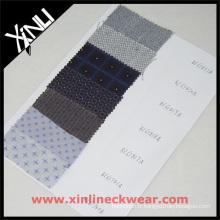 Cravate tissée en soie tissée jacquard italienne
