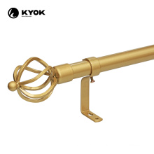 adjustable length thick curtain rod