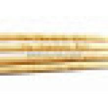 Espetos de bambu com logotipo