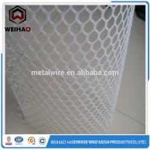 Weiß HIgh Qualität HDPE Kunststoff Flachdrahtgeflecht