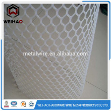 Blanc HIgh qualité HDPE treillis plat en plastique