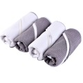 Waffle Microfiber Sports Towel With Zipper