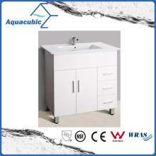 Mobiliário de banheiro pintado branco estilo australiano de venda quente (AC-8090B)