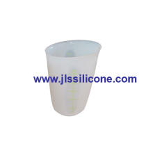 Transparent Silicone Measuring Cup Or Beaker
