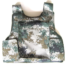 The army digital jungle camouflage ballistic vest
