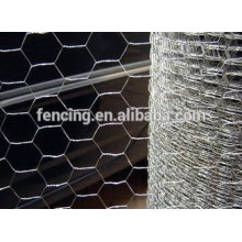 Низкая цена ПВХ покрытием, anping гексагональной сетки