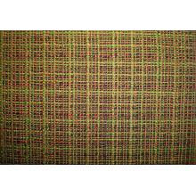Tissu à carreaux multicolore entrelacé