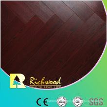 Commercial 8.3mm Embossed Cherry Sound Absorbing Laminate Flooring