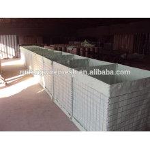 Gabion / Hesco Barreira / Pedra Cesta Parede Fabricante, Fornecedor