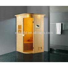 K-718 Hot sale sala de sauna a vapor seco, sala de vapor interior / exterior, sauna e sala combinada a vapor