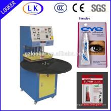 Machine manuelle de cachetage de boursouflure de la CE
