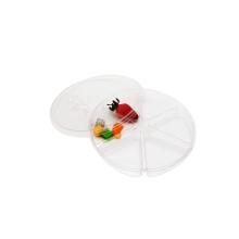 Plateau d'emballage de boursouflure de nourriture de sushi de noix de 6 compartiments