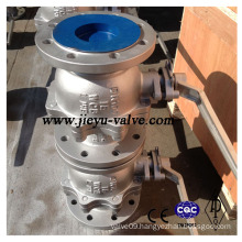 DIN Pn16 Dn100 Carbon Steel Lever Operated Ball Valve