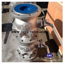 Válvula de esfera DIN Pn16 Dn100 em Aço Carbono