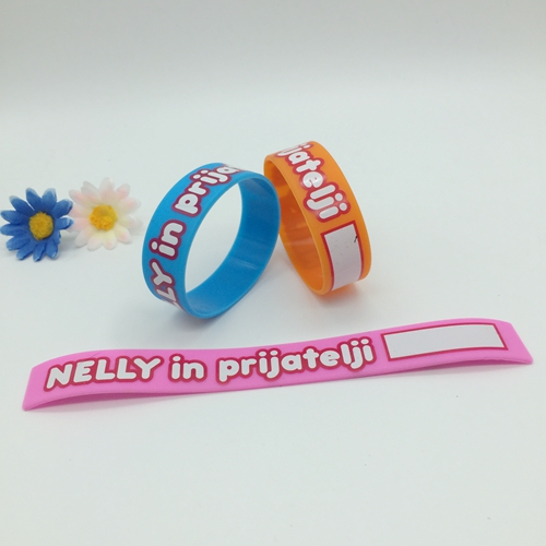 Screen-printed wristbands
