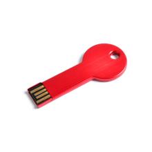 Unidad flash USB de forma clave promocional popular