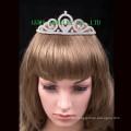 Nuevas tiaras cristalinas headwear de la princesa de la manera