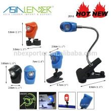 Mini-luminaire multifonctions avec clip