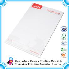 Custom design company standard size letterhead printing