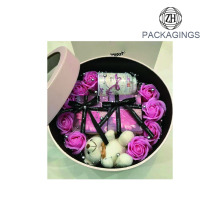Decorative+wedding+round+flower+packaging+box