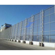 Barrière antipoussière professionnelle en métal de 15 ans d'usine