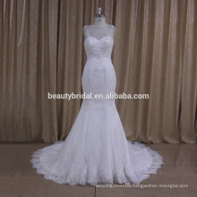 XF1009 fashionbeaded mermaid wedding dress