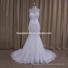 XF1009 fashionbeaded русалка свадебное платье